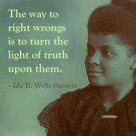 Quotation Picture Ida B Wells